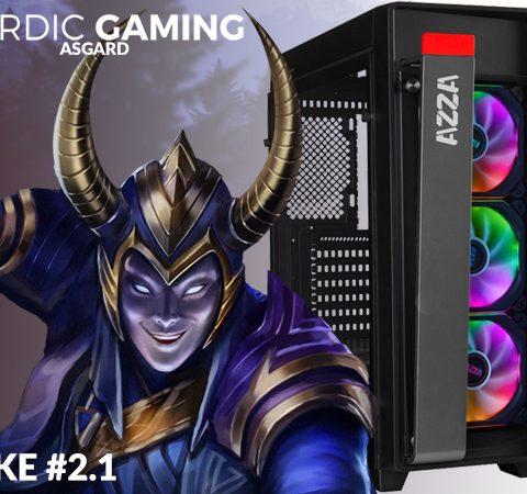Nordic Gaming Asgard Loke# 2.1 I5-9400F 8GB 240GB GTX 1660 Ti 6G W10