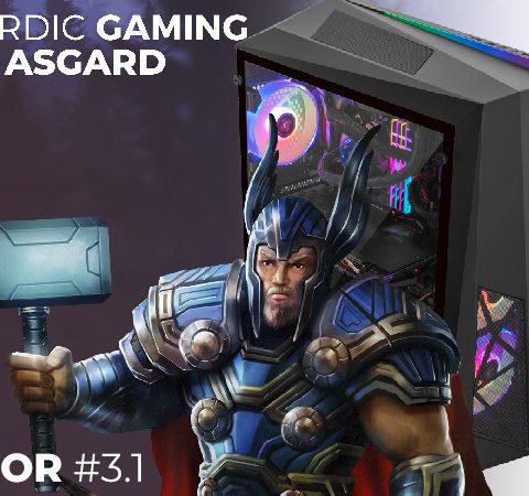 Nordic Gaming Asgard Thor #3.1 – I9-9900K 16GB 500GB RTX 2080 Super W10P