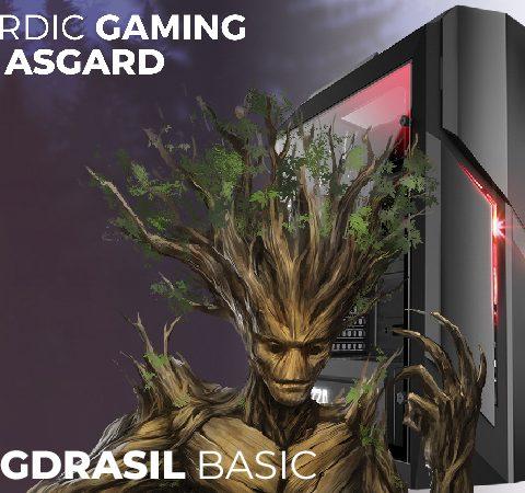 Yggdrasil Basic Ryzen 3 1200 8GB 250GB GTX 1050 Ti W10
