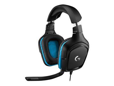 Logitech Gaming Headset G432 Kabling Headset Sort