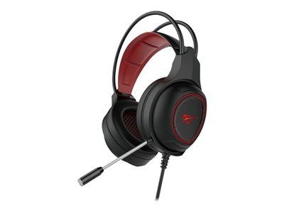 Havit Gaming Headphones Black+Red